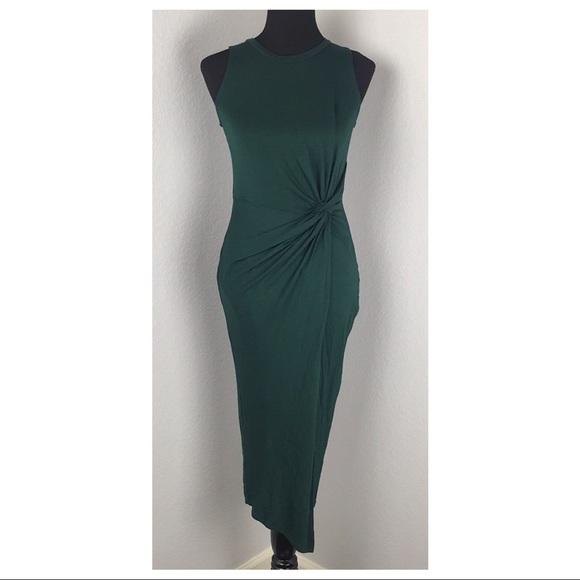 Nine Britton Dresses Green Abigail Knit Midi Dress